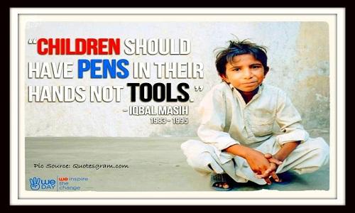 Ban on Child Labor
