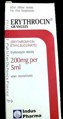 Erythrocin Granules