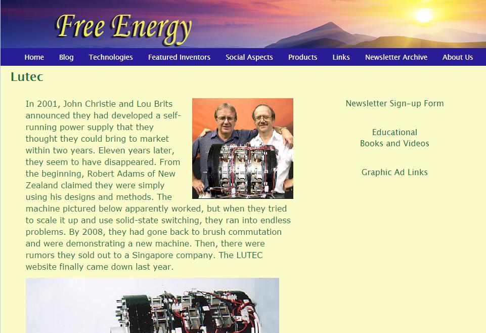 free energy five